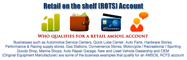 AMSOIL Factory Direct Retain On the Shelf Account